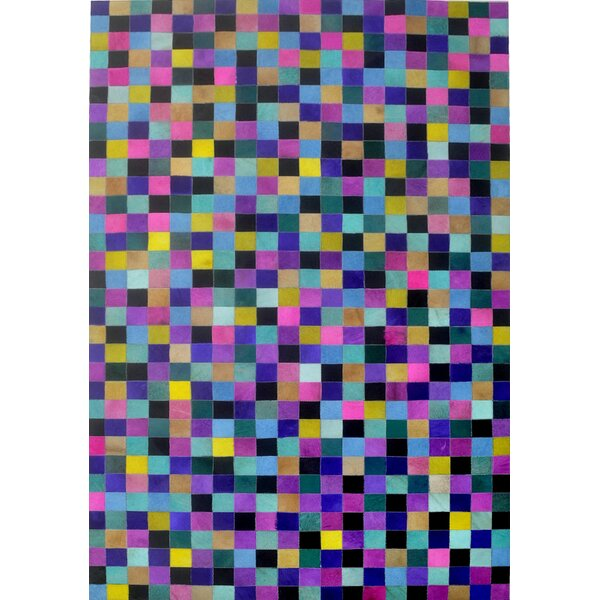 Blue/Yellow/Pink Area Rug by Modern Rugs