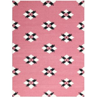 Look for Pietsch Pink Area Rug By Wrought Studio