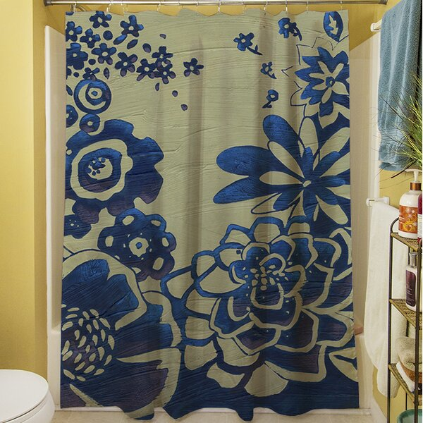 Kyoto Garden III Shower Curtain by Manual Woodworkers & Weavers