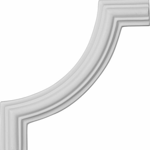 Classic 5 1/8H x 5 1/8W Large Panel Moulding Corner by Ekena Millwork
