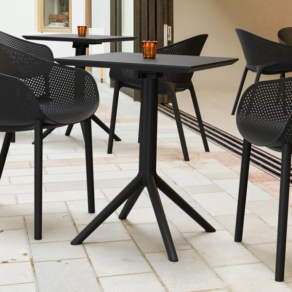 Ravensdale Folding Plastic Dining Table by Ebern Designs
