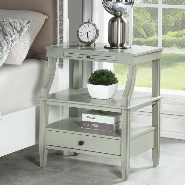 Legaspi 1 Drawer Nightstand by Charlton Home