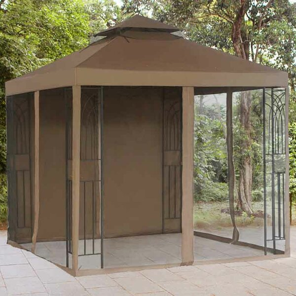 Replacement Mosquito Netting and Panel for Crawford Gazebo by Sunjoy