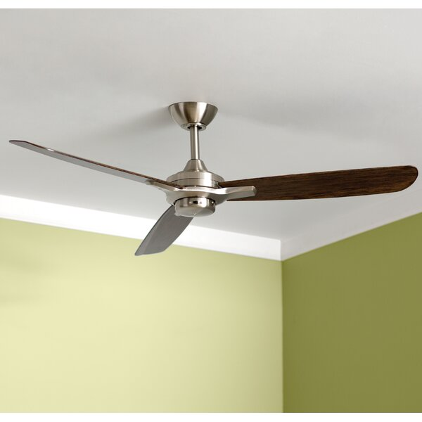52 Rudolph 3-Blade Ceiling Fan by Minka Aire
