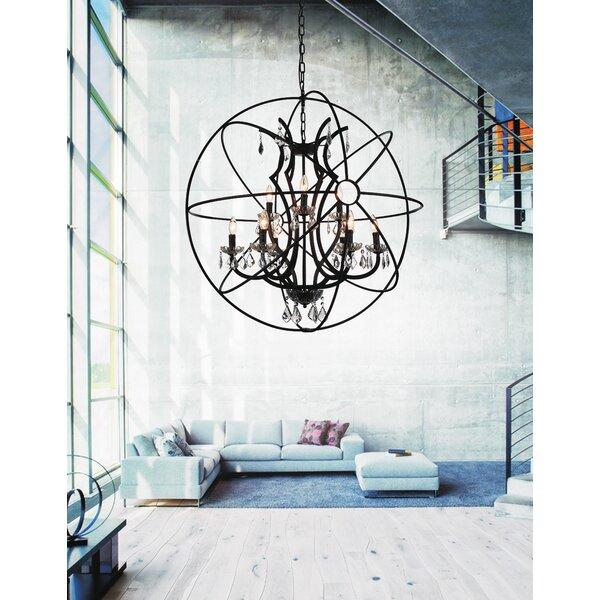 Margo 9-Light Candle Style Globe Chandelier by Gracie Oaks Gracie Oaks