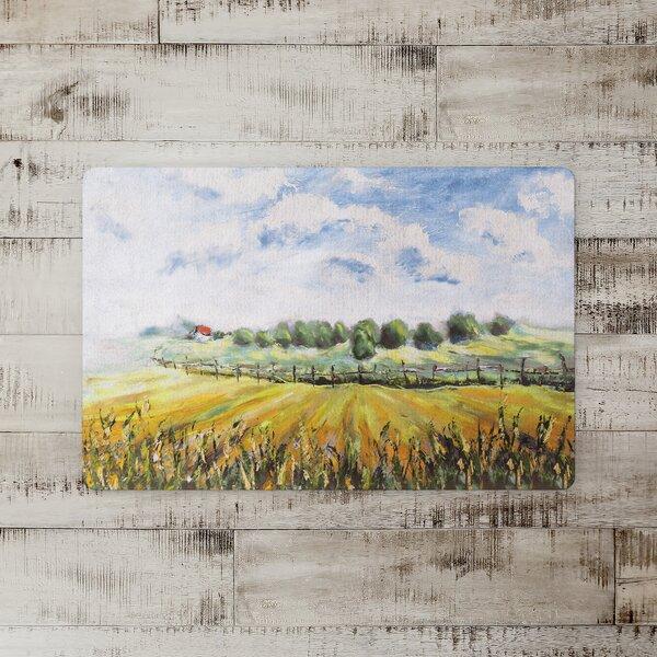 Mullins Painted Open Sky Kitchen Mat