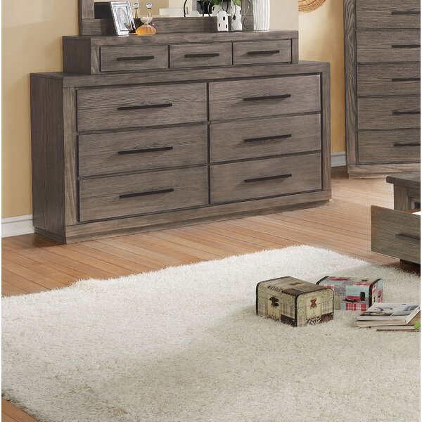 Mcmillen 9 Drawer Double Dresser by Gracie Oaks