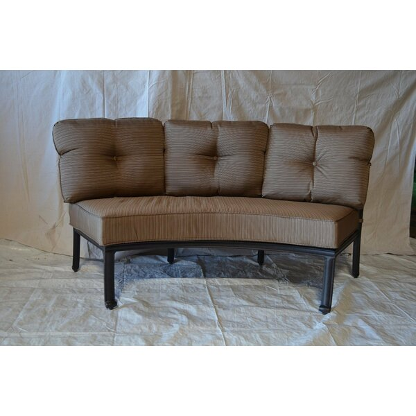 Kristy Patio Sofa with Cushions by Darby Home Co