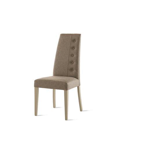 Esszimmerstuhl Set Corner (Set of 2) Ebern Designs Polsterfarbe: Beige| Gestellfarbe: Beige