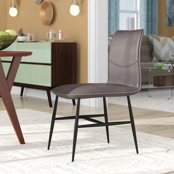 Schulz Upholstered Dining Chair (Set of 2) by Wrought Studio