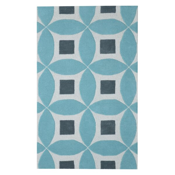 Henley Hand-Tufted Lite Blue/Gray Area Rug by Eastern Weavers