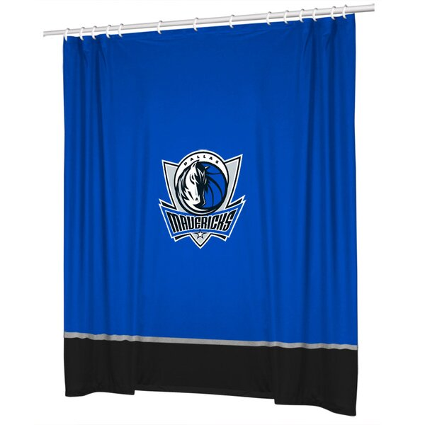 NBA Shower Curtain by Sports Coverage Inc.