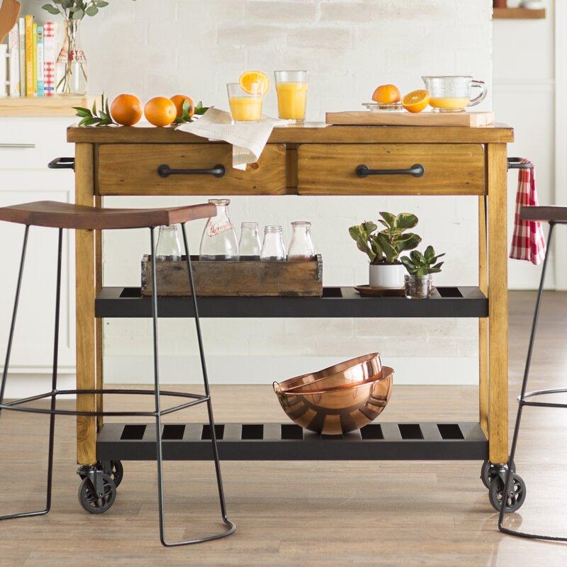 kitchen cart. Chamberlin Kitchen Cart Trent Austin Design  Reviews Wayfair