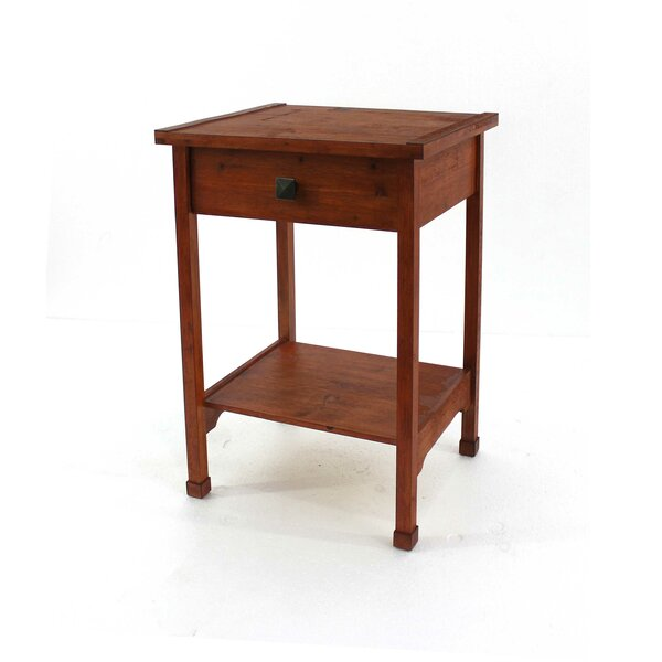 Scaggs Wooden End Table by Breakwater Bay