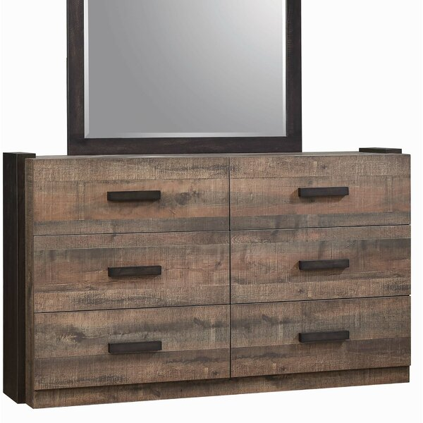 Steffan 6 Drawer Double Dresser By Gracie Oaks by Gracie Oaks New Design