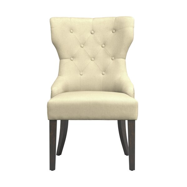 Palmira Upholstered Dining Chair by Charlton Home Charlton Home