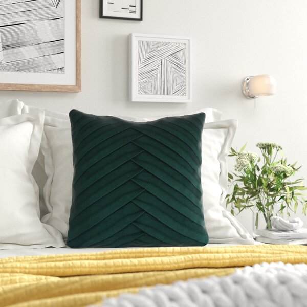Green Velvet Pillow Wayfair