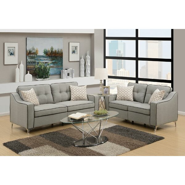Filip 2 Piece Living Room Set by Ivy Bronx