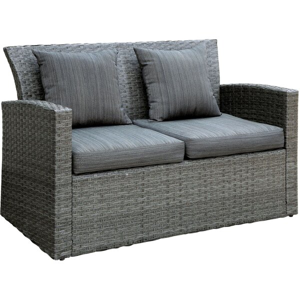 Sheehy Patio Loveseat by Ivy Bronx
