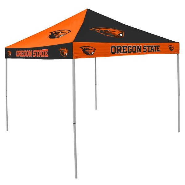 NCAA Collegiate 9 Ft. W x 9 Ft. D Steel Pop-Up Canopy by Logo Brands
