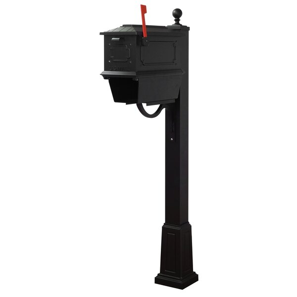 Kingston Curbside Mailbox with Springfield Post Included with Base by Special Lite Products