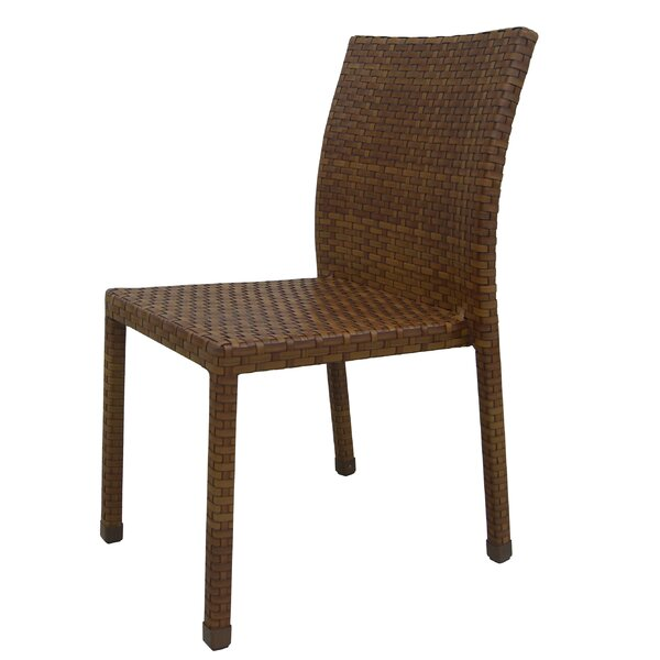 St Barths Stacking Patio Dining Chair by Panama Jack Outdoor