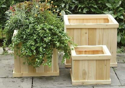 Cedar Planter Box by Bar Harbor Cedar