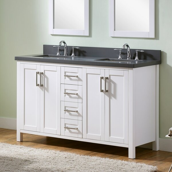 Hodgeman 61 Double Vanity Set by Latitude Run