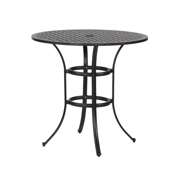 Lehmann Round Bar Table by Three Posts