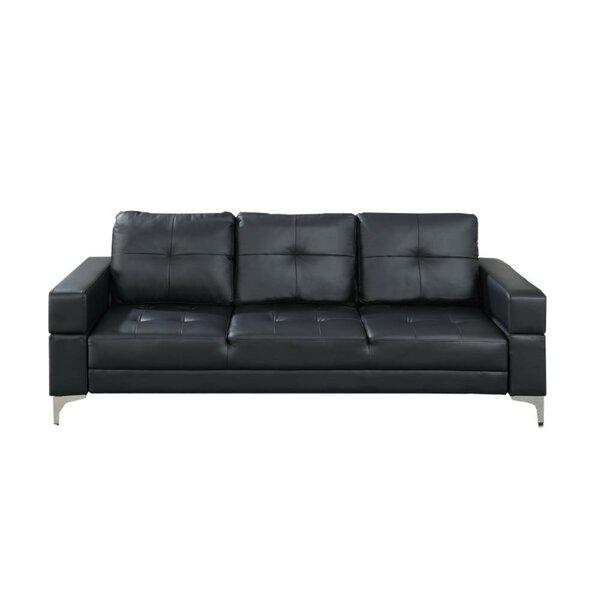 Chau Movable Armrest Adjustable Sofa by Ebern Designs
