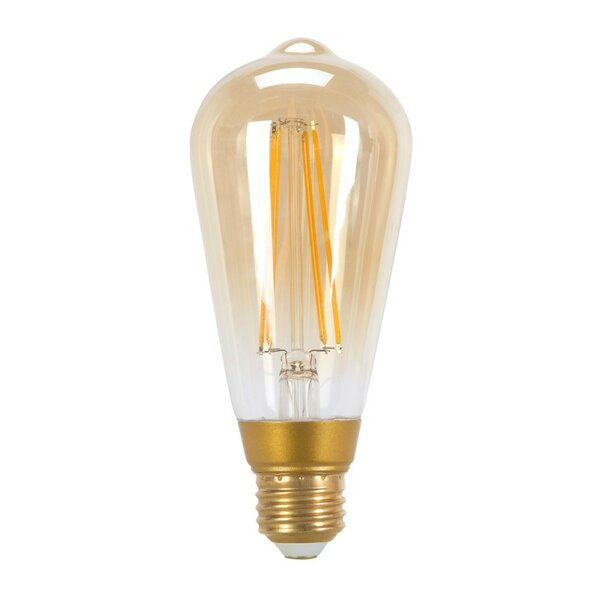 60W Equivalent Soft White (2200K) Vintage Edison Dimmable LED Light Bulb by Globe Electric Company