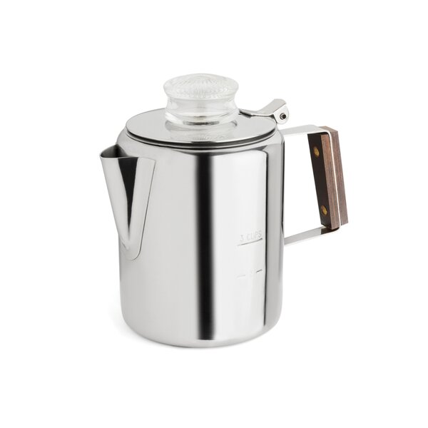 2-3 Cup Rapid Brew Stainless Steel Percolator by Tops