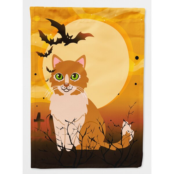 Testa Cat 2-Sided Garden Flag by The Holiday Aisle