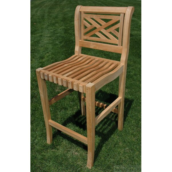 Chippendale 28 Patio Bar Stool by Regal Teak