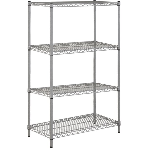36 H x 18 W 4 Tier Shelving Unit by MyCuisina