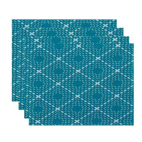 Shirley Dots and Dashes Placemat (Set of 4) by Wrought Studio