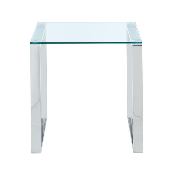Garnett End Table by Orren Ellis