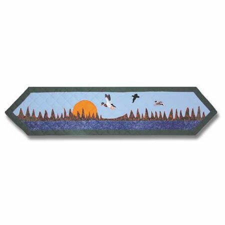 Mallard Table Runner by Patch Magic