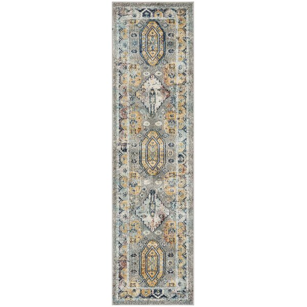 Mcintosh Gray Area Rug  by Bloomsbury Market