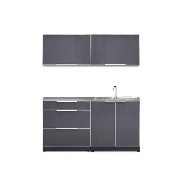 @ Kitchen 5 Piece Outdoor Bar Center Set by NewAge Products| #$3,249.99!