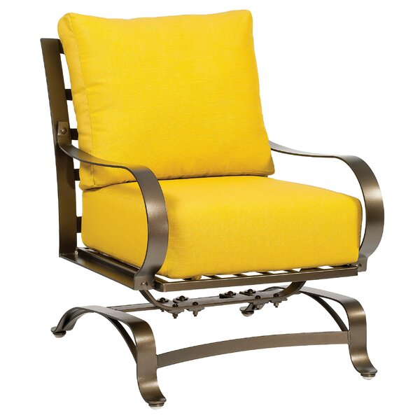 Cascade Patio Dining Chair with Cushion by Woodard