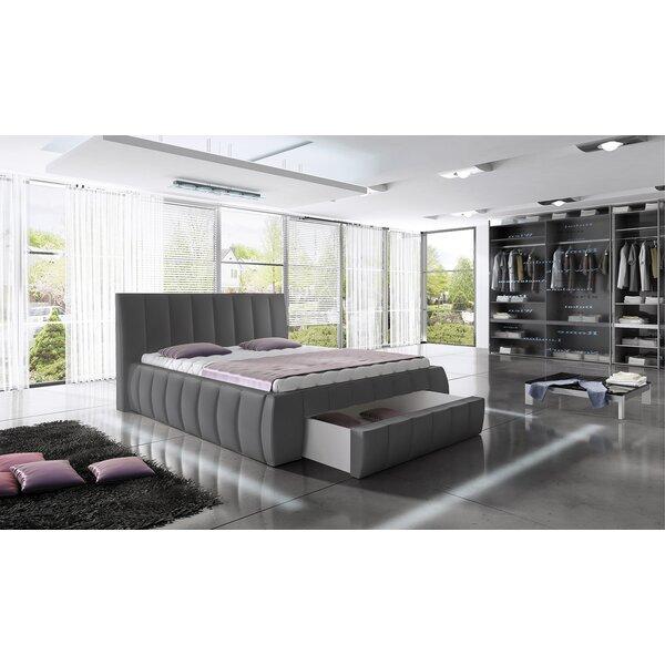 Granjeno King Upholstered Storage Platform Bed by Orren Ellis