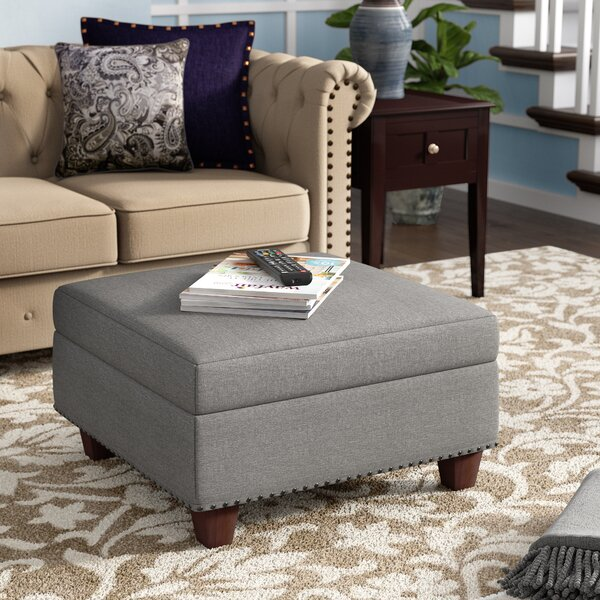 Dunston Storage Ottoman By Three Posts Cheap