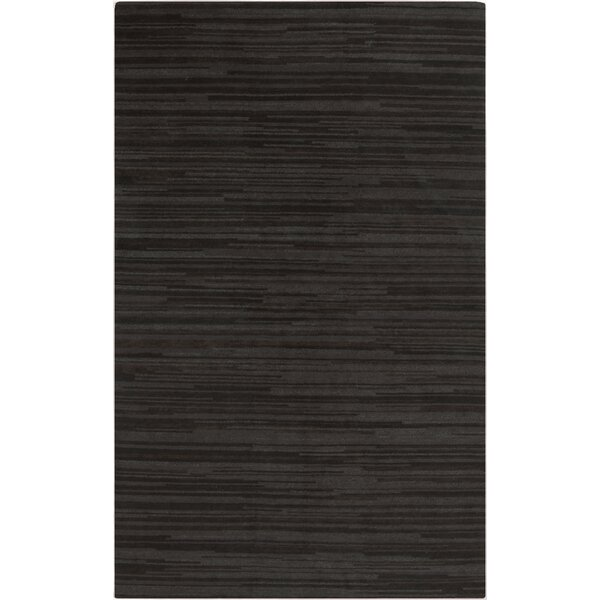 Alica Grey Stripe Rug by Orren Ellis