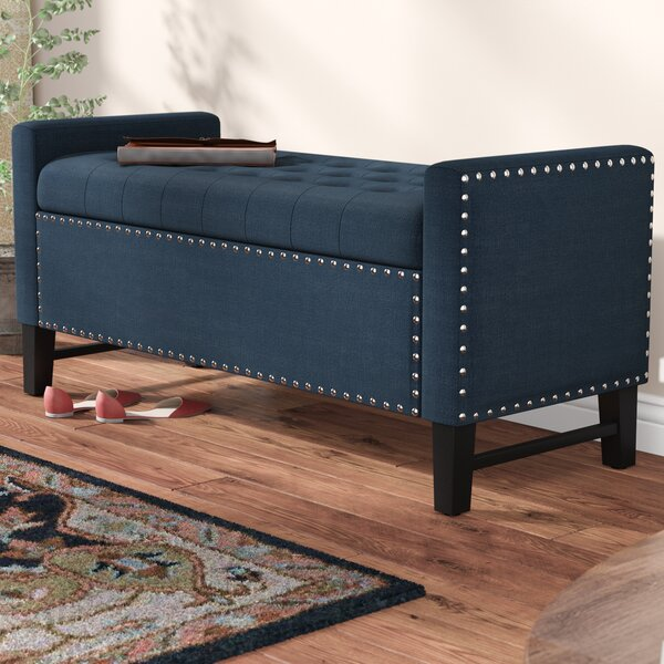 Lamothe Upholstered Storage Bench by Alcott Hill