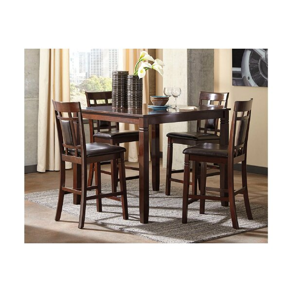Manzanita 5 Piece Counter Height Dining Set by Canora Grey