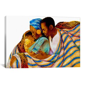'Precious Love' by Keith Mallett Graphic Art on Canvas by iCanvas