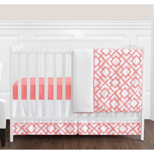 Mod Diamond 4 Piece Crib Bedding Set by Sweet Jojo Designs