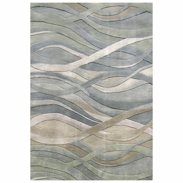 Classico Hand-Woven Multi-Color Area Rug By Alliyah Rugs.