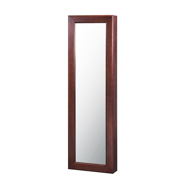 Wall Mounted Jewelry Armoire with Mirror by HomePointe